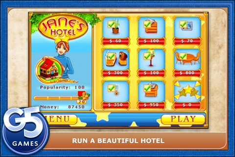 Screenshot Jane's Hotel